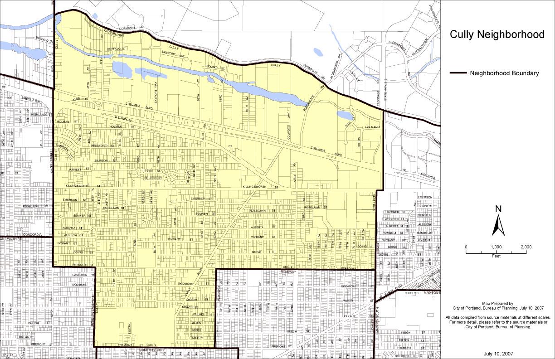 Cully Neighborhood Boundaries | Cully Association of Neighbors